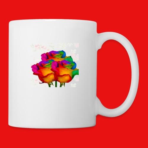 Rainbow Roses - Coffee/Tea Mug