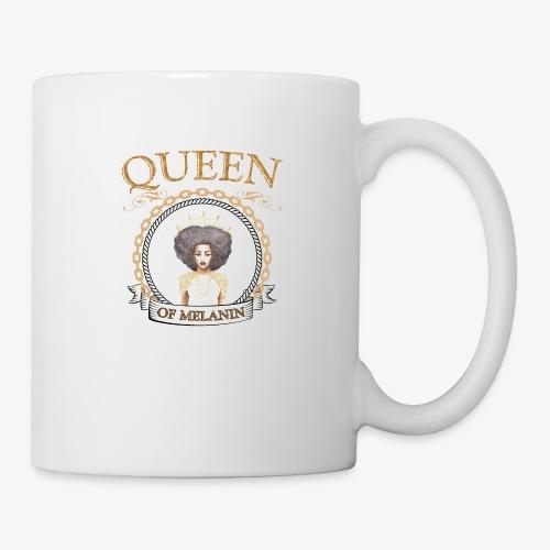 QUEEN OF MELANIN - Coffee/Tea Mug