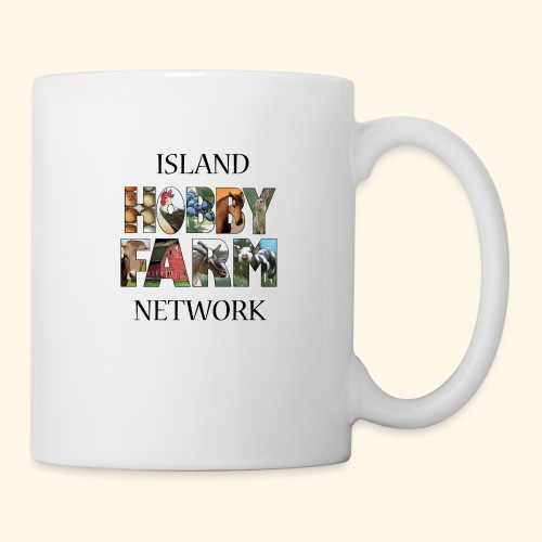 Island Hobby Farm Black Logo - Coffee/Tea Mug