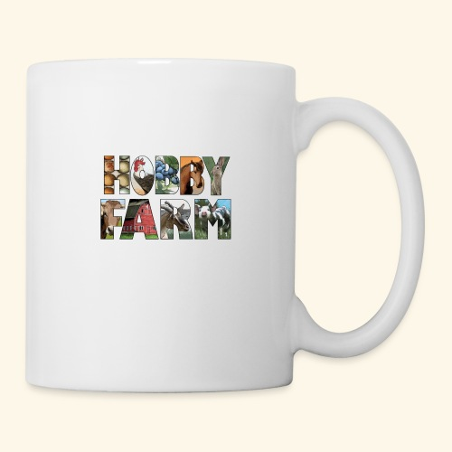Island Hobby Farm White Logo - Coffee/Tea Mug