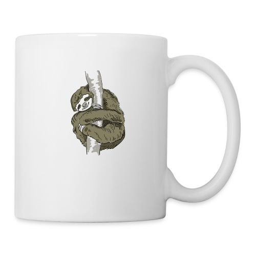 Sloth Animal cute Slow Nerd sleep chill out nap - Coffee/Tea Mug