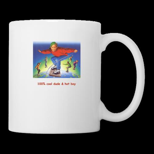 hot boy t-shirt - Coffee/Tea Mug