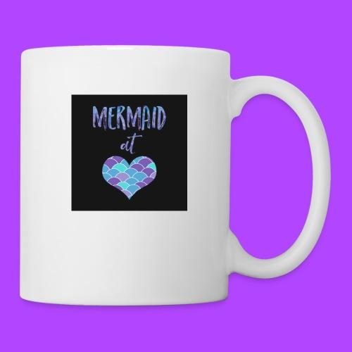 mermaid at heart - Coffee/Tea Mug