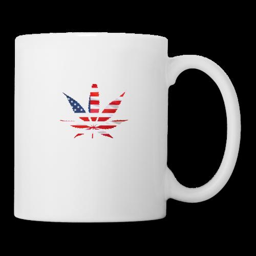 Weed Leaf USA - Coffee/Tea Mug
