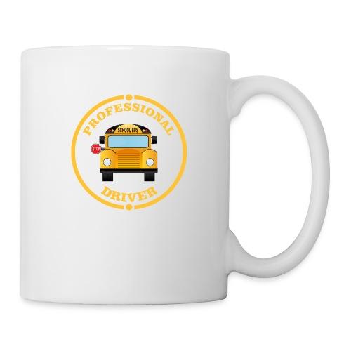 SCHOOL BUS DRIVER PROFESSIONAL Back to school Tee - Coffee/Tea Mug