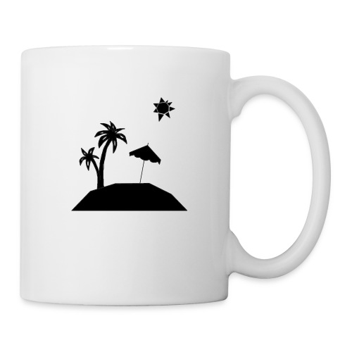 Beach Silhouette - Coffee/Tea Mug