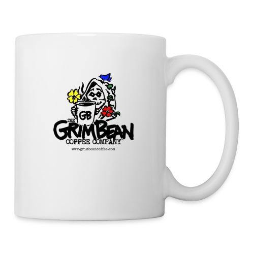 Grim Bean Coffee Company Spring Flavors Logo - Coffee/Tea Mug