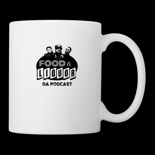 Food & Liquor Da Podcast Logo - Coffee/Tea Mug