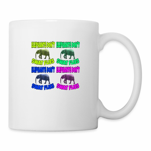 Elephants Don't Swat Flies - Coffee/Tea Mug