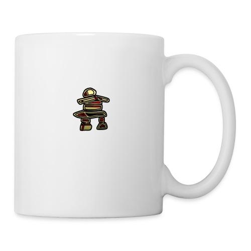Inuksuk Totem Figure in Gold - Coffee/Tea Mug