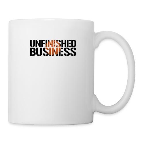 Unfinished Business hoops basketball - Coffee/Tea Mug
