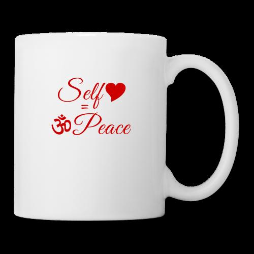 108-lSa Inspi-Shirt-83.b Self-love = OM-Peace - Coffee/Tea Mug