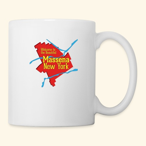 Massena NY Red - Coffee/Tea Mug
