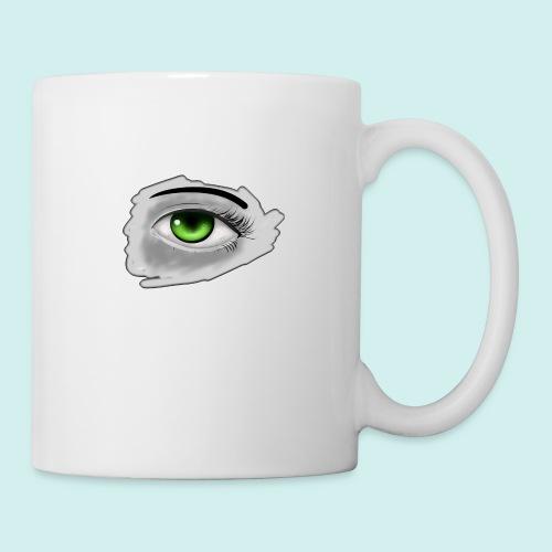 Realist Anime green eye - Coffee/Tea Mug