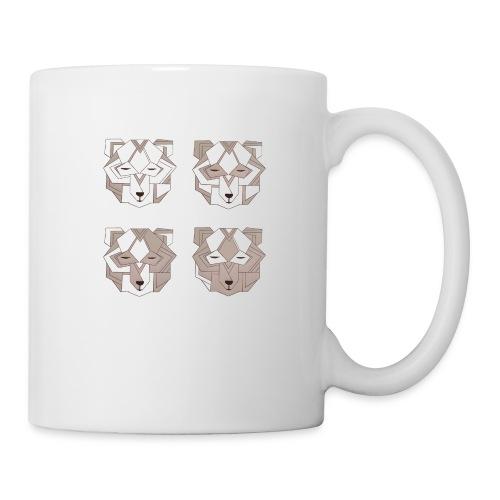 4 art deco bears - Coffee/Tea Mug