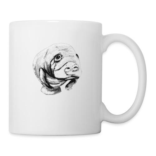 Manatee sketch - Coffee/Tea Mug