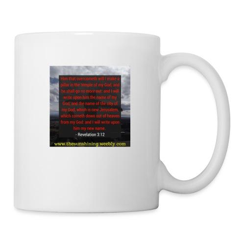 Revelation 3:12 (#Overcomer) - Coffee/Tea Mug