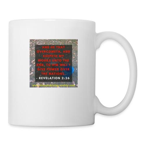 Revelation 2:26 (#Overcomer) - Coffee/Tea Mug