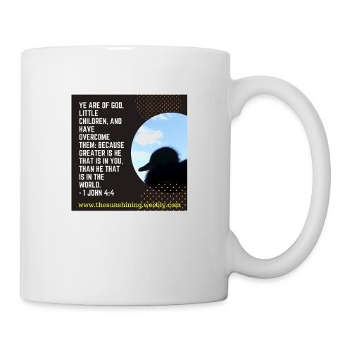 1 John 4:4 (#Overcomer) - Coffee/Tea Mug
