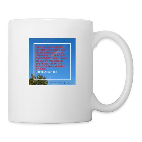 Revelation 2:7 (#Overcomer) - Coffee/Tea Mug