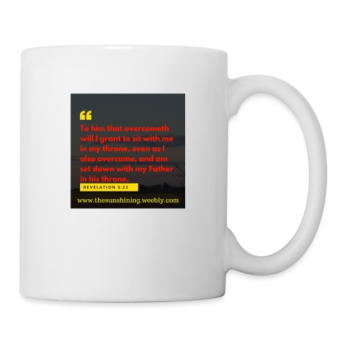 Revelation 3:21 (#Overcomer) - Coffee/Tea Mug