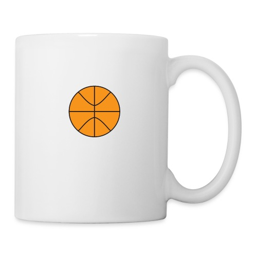 Plain basketball - Coffee/Tea Mug