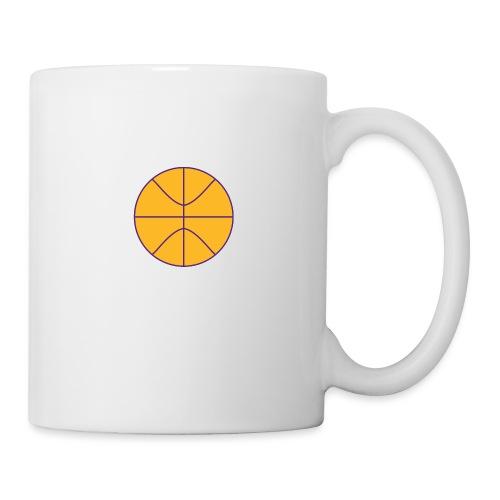 Basketball purple and gold - Coffee/Tea Mug