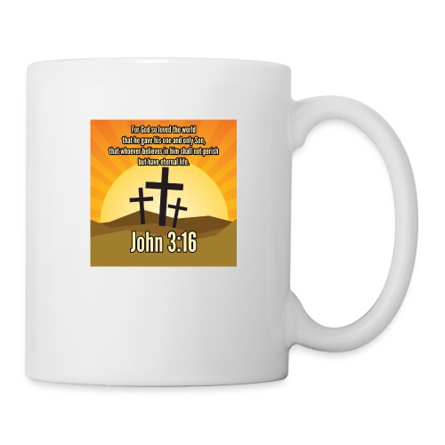John 3:16 - the most widely quoted Bible verses? - Coffee/Tea Mug