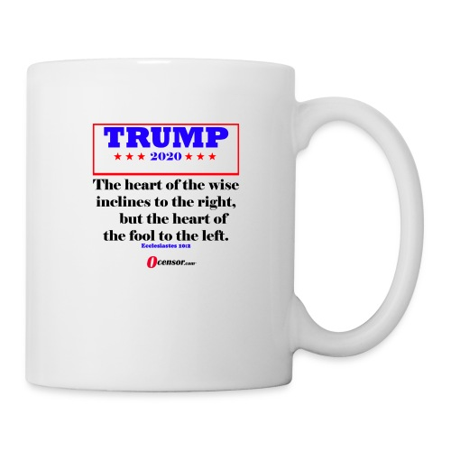 Trump 2020 Eccl 10 2 Black - Coffee/Tea Mug