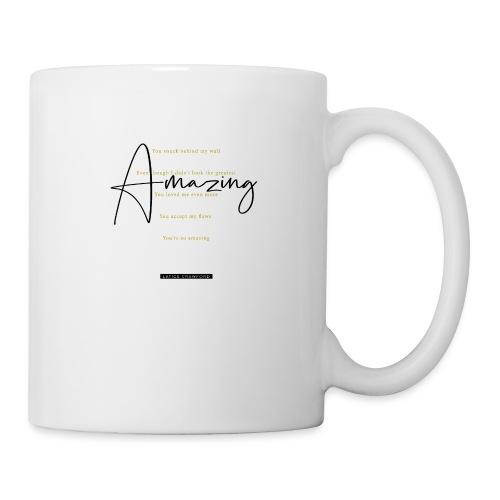 Amazing - Black Text - Coffee/Tea Mug