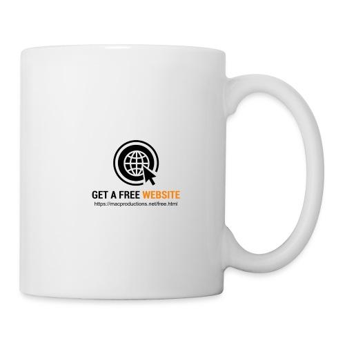 Get A Free Website - Coffee/Tea Mug