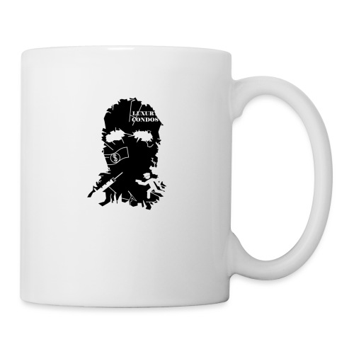 broken mask logo - Coffee/Tea Mug