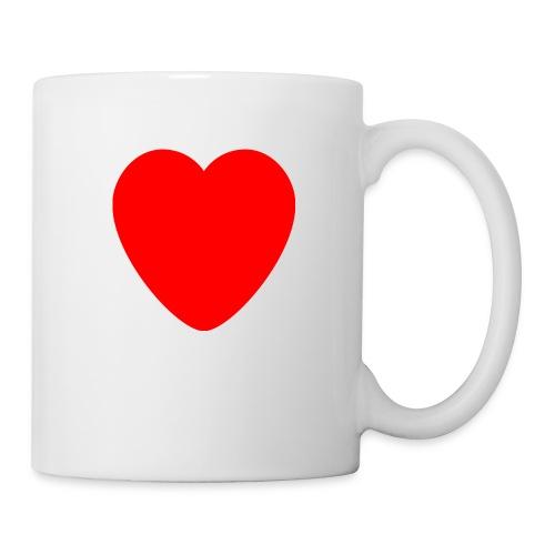 Red heart Care - Coffee/Tea Mug