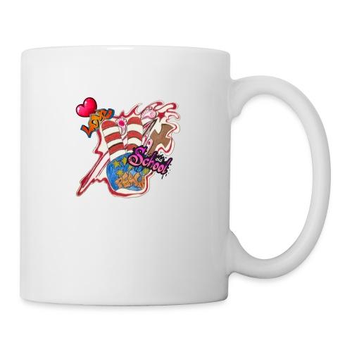 Peace old school - Coffee/Tea Mug
