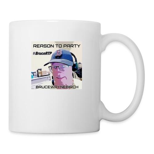 Reason to Party Tshirt #BruceRTP - Coffee/Tea Mug