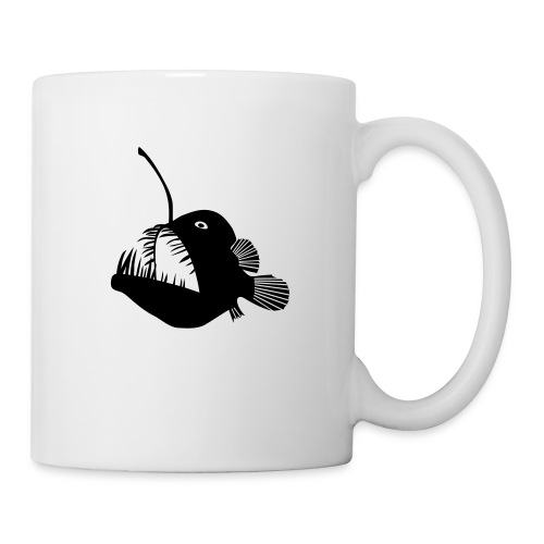 anglerfish frogfish sea devil deep sea angler - Coffee/Tea Mug