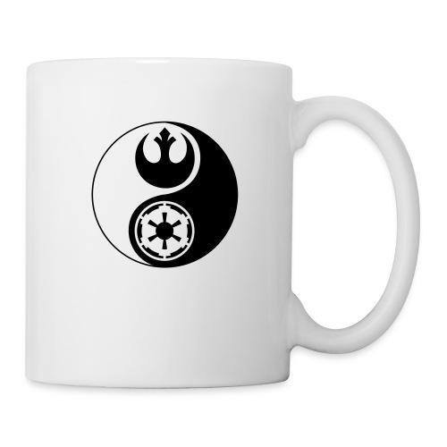 Star Wars Yin Yang 1-Color Dark - Coffee/Tea Mug
