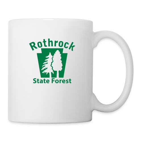 Rothrock State Forest Keystone (w/trees) - Coffee/Tea Mug