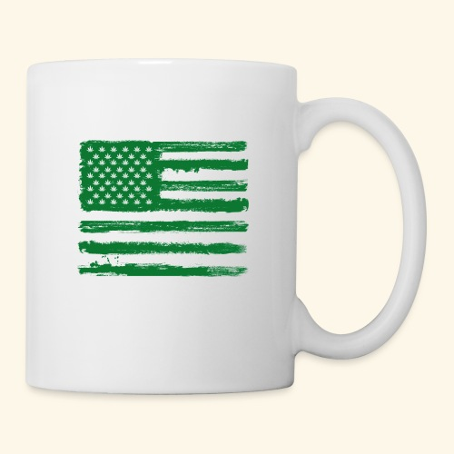 Free Denizens Legalize It US Cannabis Flag - Coffee/Tea Mug