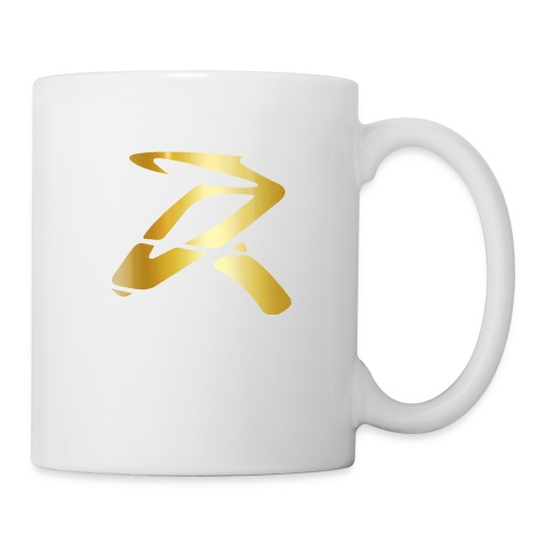 Rizz R Logo GOLD - Coffee/Tea Mug