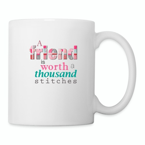 Friends Are Worth Stitches Set - Coffee/Tea Mug