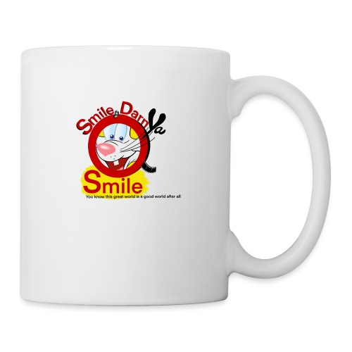 Smile Darn Ya Smile - Coffee/Tea Mug