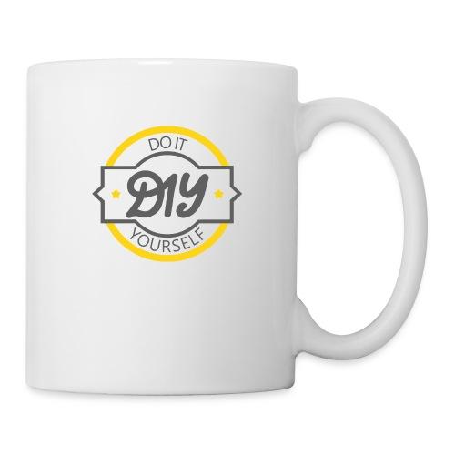 Do It Yourself | DIY | Minimal Badge-like Design - Coffee/Tea Mug