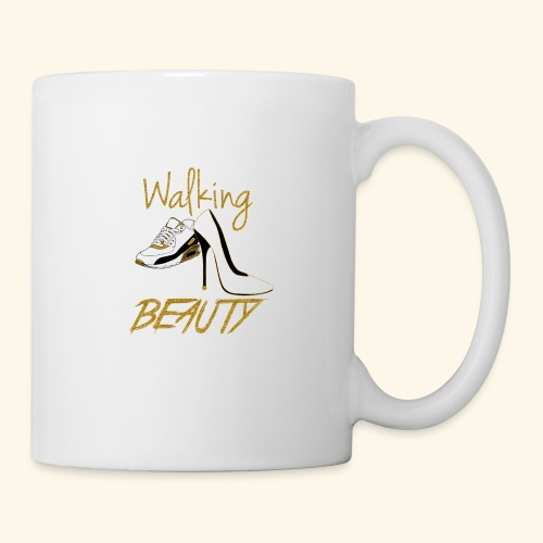 Walking in your Beauty tshirt - Coffee/Tea Mug