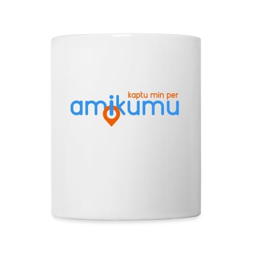 Kaptu min per Amikumu Blua - Coffee/Tea Mug
