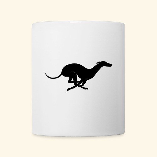 X Racing Greyhound Track Dog Running - Coffee/Tea Mug