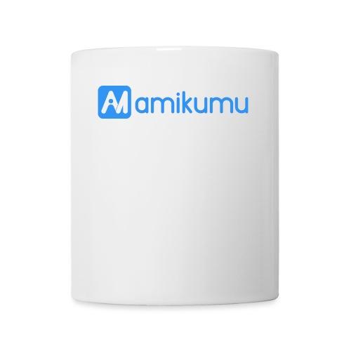Amikumu Logo Blue - Coffee/Tea Mug