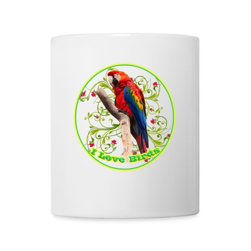 I Love Birds - Cool - Coffee/Tea Mug
