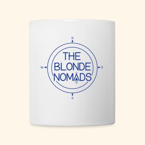The Blonde Nomads Blue Logo - Coffee/Tea Mug