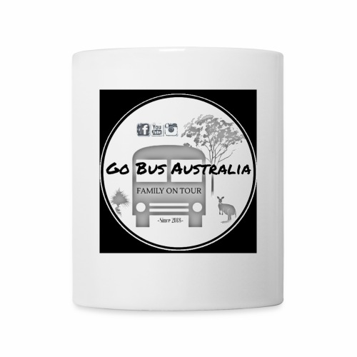 Go Bus Australia - Large Black Logo Range - Coffee/Tea Mug